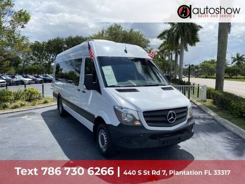 2017 Mercedes-Benz Sprinter Cargo for sale at AUTOSHOW SALES & SERVICE in Plantation FL