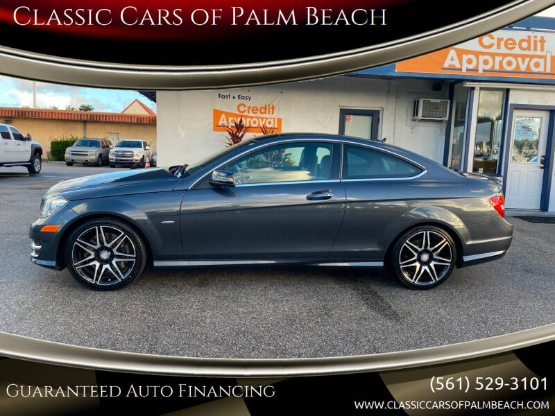 2014 Mercedes-Benz C-Class for sale at Classic Cars of Palm Beach in Jupiter FL