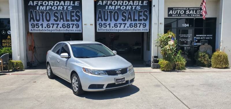 2011 Kia Forte for sale at Affordable Imports Auto Sales in Murrieta CA