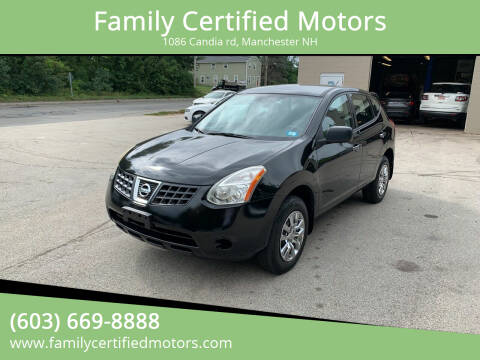 2010 Nissan Rogue for sale at Family Certified Motors in Manchester NH