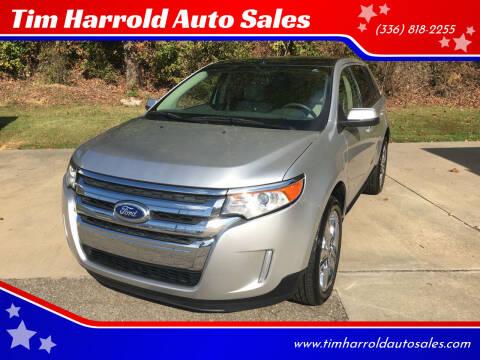 2013 Ford Edge for sale at Tim Harrold Auto Sales in Wilkesboro NC