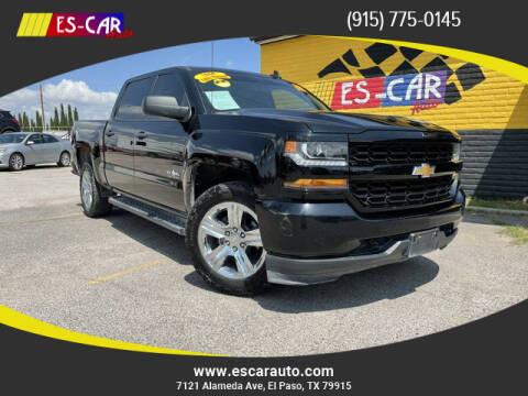2018 Chevrolet Silverado 1500 for sale at Escar Auto in El Paso TX