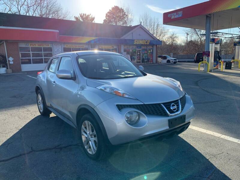 2013 Nissan JUKE for sale at Gia Auto Sales in East Wareham MA