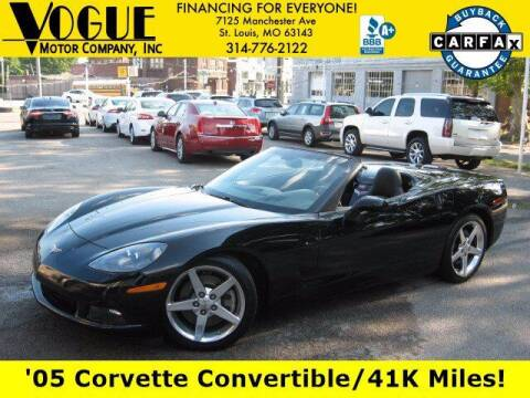 2005 Chevrolet Corvette for sale at Vogue Motor Company Inc in Saint Louis MO