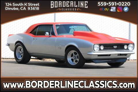 1967 Chevrolet Camaro for sale at Borderline Classics - Kearney Collection in Dinuba CA