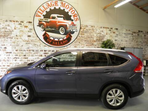 2013 Honda CR-V for sale at Village Motors Of Salado in Salado TX