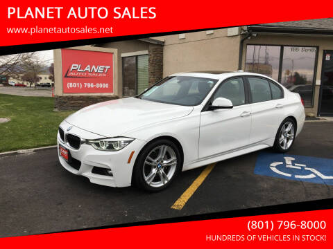 2016 BMW 3 Series for sale at PLANET AUTO SALES in Lindon UT
