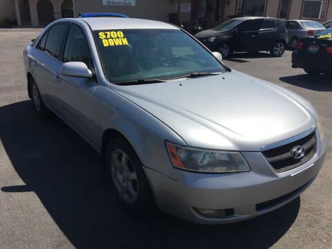 2008 Hyundai Sonata for sale at Creekside Auto Sales in Pocatello ID