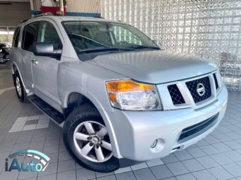 2015 Nissan Armada for sale at iAuto in Cincinnati OH
