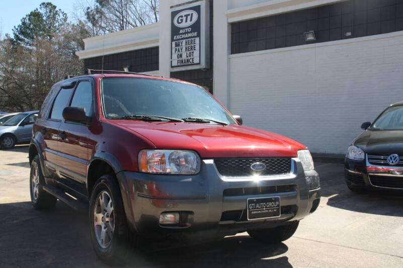 2004 Ford Escape for sale at GTI Auto Exchange in Durham NC