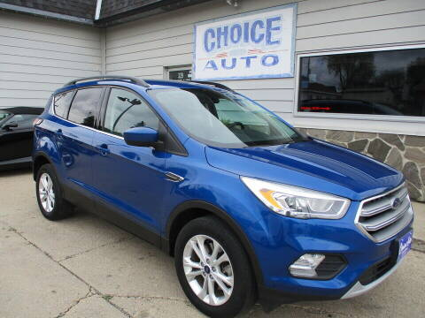 2017 Ford Escape for sale at Choice Auto in Carroll IA