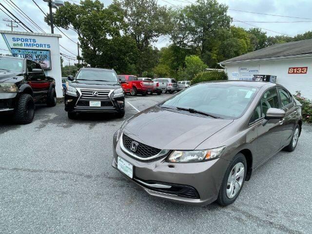 2014 Honda Civic for sale at Sports & Imports in Pasadena MD