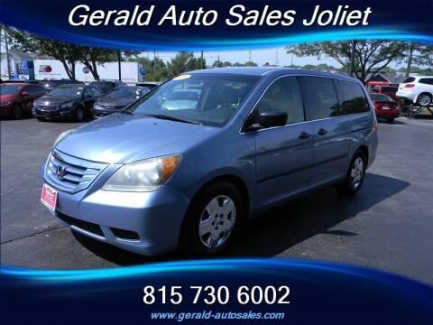 2010 Honda Odyssey for sale at Gerald Auto Sales in Joliet IL