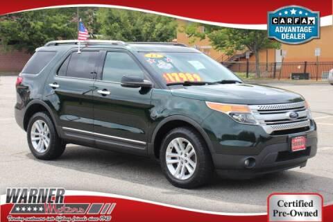 2013 Ford Explorer for sale at Warner Motors in East Orange NJ