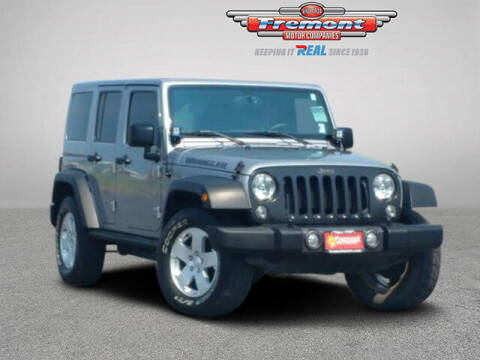 2016 Jeep Wrangler Unlimited for sale at Rocky Mountain Commercial Trucks in Casper WY
