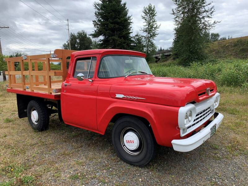 1960 Ford F-250 for sale at Classic Car Addiction in Marysville WA