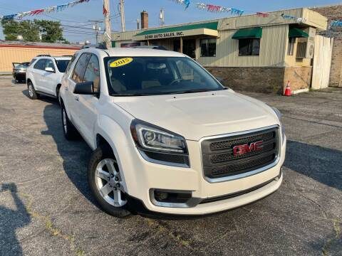 2015 GMC Acadia for sale at Some Auto Sales in Hammond IN