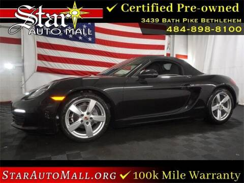 2014 Porsche Boxster for sale at STAR AUTO MALL 512 in Bethlehem PA
