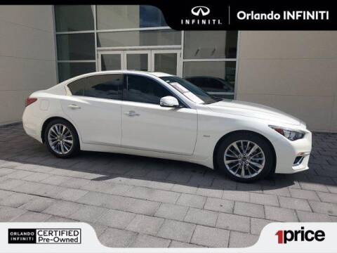 2019 Infiniti Q50 for sale at Orlando Infiniti in Orlando FL