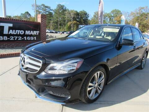 2014 Mercedes-Benz E-Class for sale at J T Auto Group in Sanford NC