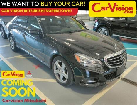 2016 Mercedes-Benz E-Class for sale at Car Vision Mitsubishi Norristown in Norristown PA