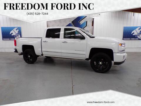 2016 Chevrolet Silverado 1500 for sale at Freedom Ford Inc in Gunnison UT
