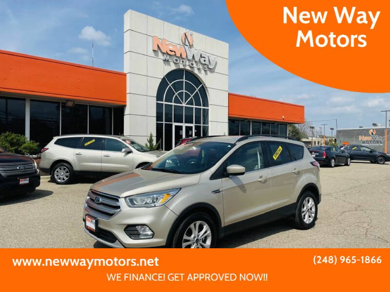 2017 Ford Escape for sale at New Way Motors in Ferndale MI