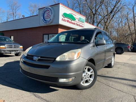 2005 Toyota Sienna for sale at GMA Automotive Wholesale in Toledo OH