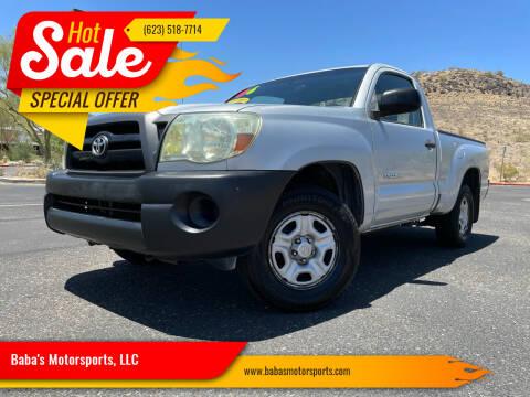 2006 Toyota Tacoma for sale at Baba's Motorsports, LLC in Phoenix AZ