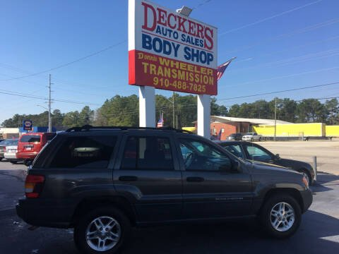 2004 Jeep Grand Cherokee for sale at Deckers Auto Sales Inc in Fayetteville NC