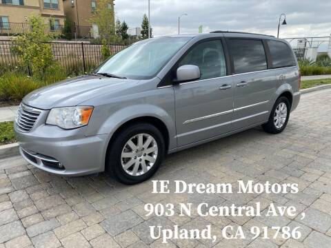 2014 Chrysler Town and Country for sale at IE Dream Motors-Upland in Upland CA