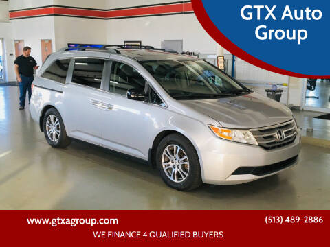 2013 Honda Odyssey for sale at GTX Auto Group in West Chester OH