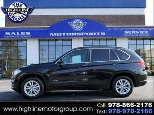 2014 BMW X5 for sale at Highline Group Motorsports in Lowell MA