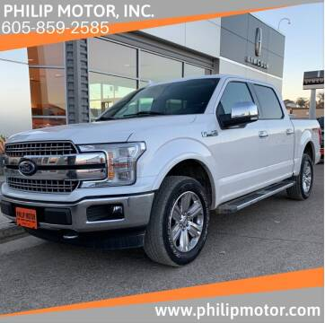 2018 Ford F-150 for sale at Philip Motor Inc in Philip SD