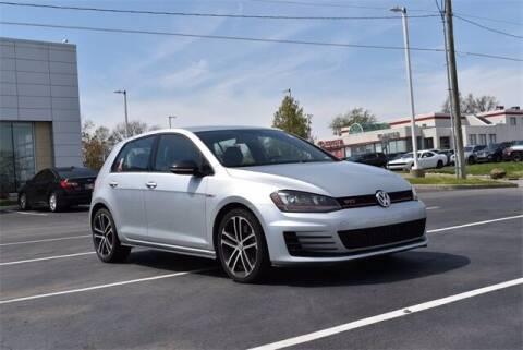 2017 Volkswagen Golf GTI for sale at BOB ROHRMAN FORT WAYNE TOYOTA in Fort Wayne IN