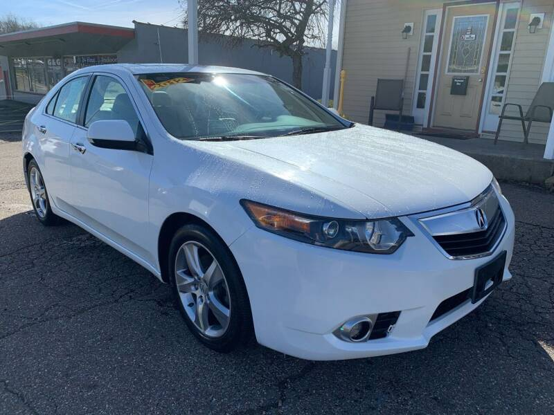 2012 Acura TSX for sale at G & G Auto Sales in Steubenville OH