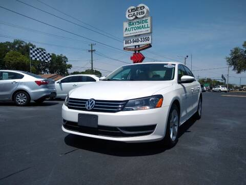2012 Volkswagen Passat for sale at BAYSIDE AUTOMALL in Lakeland FL