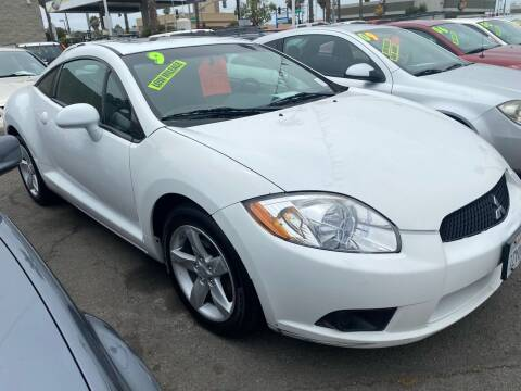 2009 Mitsubishi Eclipse for sale at North County Auto in Oceanside CA