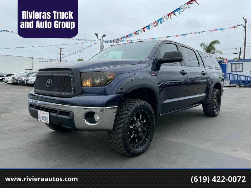 2010 Toyota Tundra for sale at Rivieras Truck and Auto Group in Chula Vista CA