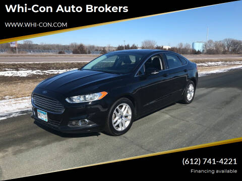 2016 Ford Fusion for sale at Whi-Con Auto Brokers in Shakopee MN