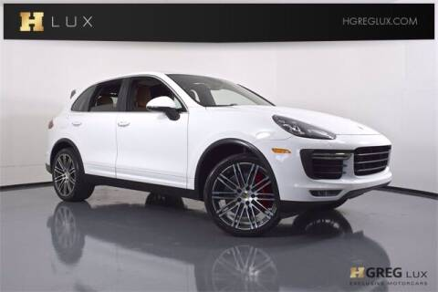 2018 Porsche Cayenne for sale at HGREG LUX EXCLUSIVE MOTORCARS in Pompano Beach FL