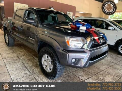 2015 Toyota Tacoma for sale at Amazing Luxury Cars in Snellville GA