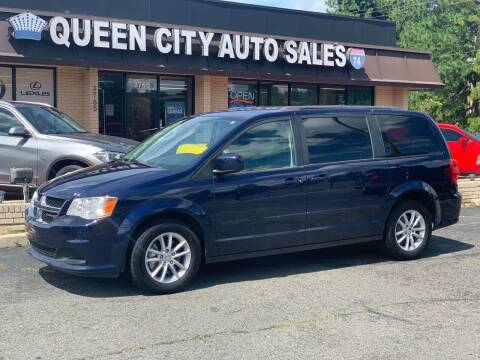 2015 Dodge Grand Caravan for sale at Queen City Auto Sales in Charlotte NC