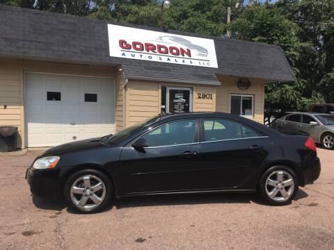 2005 Pontiac G6 for sale at Gordon Auto Sales LLC in Sioux City IA