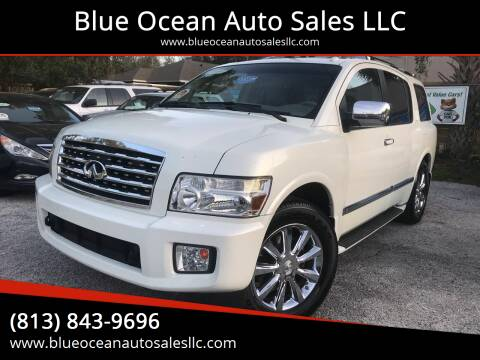 2008 Infiniti QX56 for sale at Blue Ocean Auto Sales LLC in Tampa FL