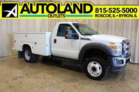 2012 Ford F-450 Super Duty for sale at AutoLand Outlets Inc in Roscoe IL