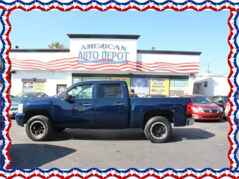 2007 Chevrolet Silverado 1500 for sale at American Auto Depot in Modesto CA