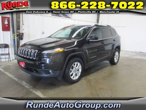 2018 Jeep Cherokee for sale at Runde Chevrolet in East Dubuque IL