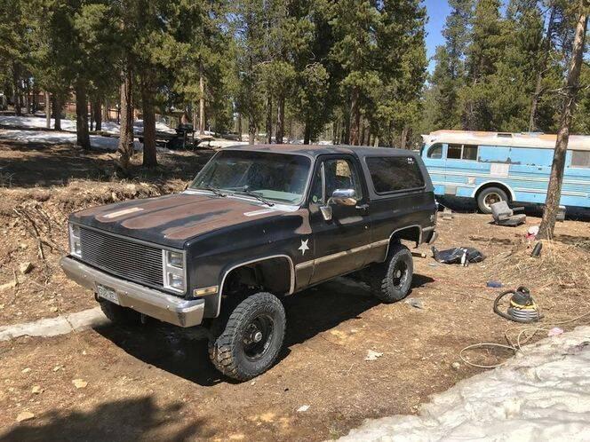 1985 Chevrolet Blazer for sale in Cadillac, MI