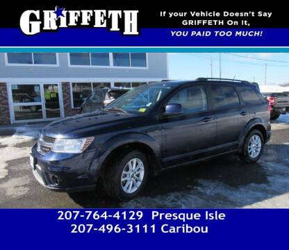 2017 Dodge Journey for sale at Griffeth Mitsubishi - Pre-owned in Caribou ME